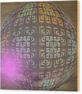 Planet X321z4 Wood Print