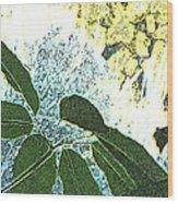 Plant Life Inside-outside Wood Print