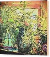 Plants Wood Print by YoMamaBird Rhonda