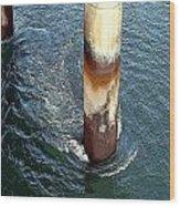 Platform Leg Wood Print
