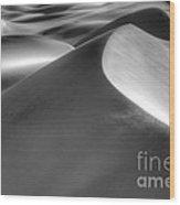 Platinum Dunes Wood Print