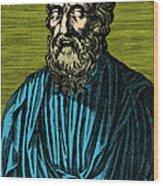 Plato, Ancient Greek Philosopher Wood Print