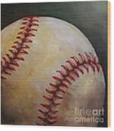 Play Ball No. 2 Wood Print