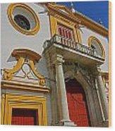 Plaza De Toros De La Maestranza - Seville  Wood Print