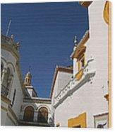 Plaza De Toros De La Real Maestranza - Seville Wood Print
