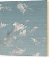 Pleasant Sky Wood Print