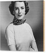 Please Believe Me, Deborah Kerr, 1950 Wood Print by Everett