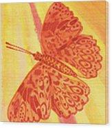 Pleasure Butterfly Wood Print