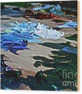 Plein Air Palette Wood Print