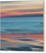 Plum Island Dawn Wood Print