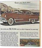 Plymouth De Soto 1953 Wood Print