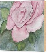 Pnk Rose Wood Print