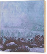 Pogonip Wood Print