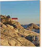 Point Atchison Lighthouse 2 Wood Print