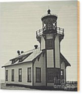 Point Cabrillo Lighthouse Wood Print