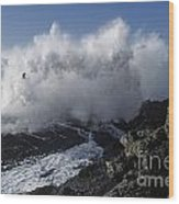 Point-lobos-9-5 Wood Print by Craig Lovell