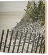 Point Pleasant Beach Wood Print by Heather Applegate