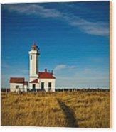 Point Wilson Lighthouse Wood Print