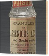 Poison Circa 1900 Wood Print