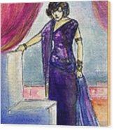 Pola Negri Wood Print