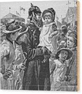 Policeman, 1885 Wood Print