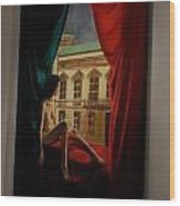 Polihymnia Wood Print
