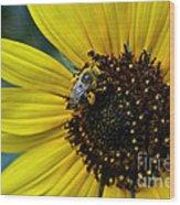 Pollen Laden  Wood Print
