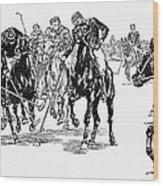 Polo, 1876 Wood Print