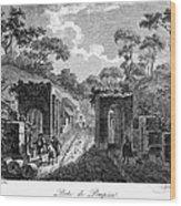 Pompeii: Herculaneum Gate Wood Print