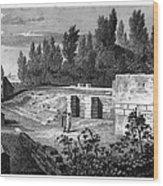 Pompeii: Stairs, C1830 Wood Print