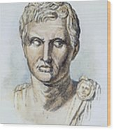 Pompey (106-48 B.c.) Wood Print