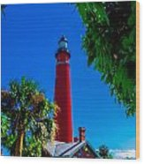 Ponce Inlet Lighthouse 1 Wood Print