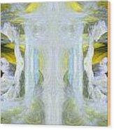Pond In Fairyland Wood Print