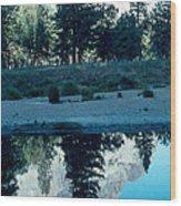 Ponderosa Reflections Wood Print
