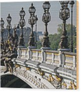 Pont Alexander IIi Wood Print