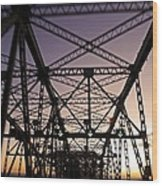Pont Champlain - Montreal Wood Print