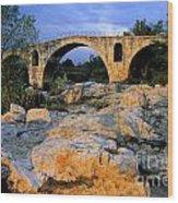 Pont Julien. Luberon. Provence. France. Europe Wood Print