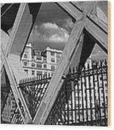 Pont Lafayette Paris Wood Print