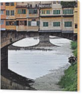 Ponte Vecchio 2 Wood Print