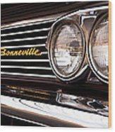 Pontiac Bonneville Wood Print
