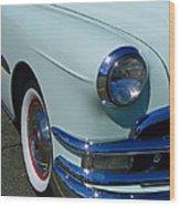 Pontiac Eight Wood Print