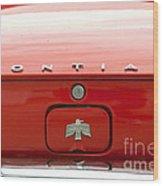 Pontiac Firebird Emblem Wood Print