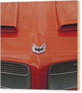 Pontiac Firebird Grille Wood Print