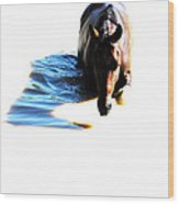 Pony Fun Wood Print