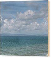 Poole Bay Panorama Wood Print