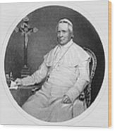 Pope Pius Ix (1792-1878) Wood Print