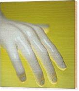 Porcelain Hand Wood Print