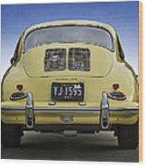 Porsche 356 Wood Print