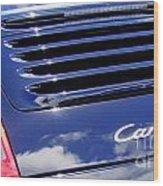 Porsche 911 Carrera S Wood Print