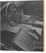 Porsche Interior Wood Print